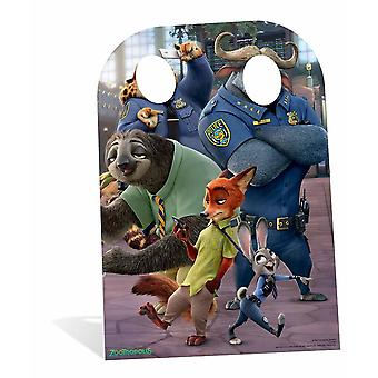 Zootropolis It Starts With All of Us Child Size Cardboard Cutout Stand-In