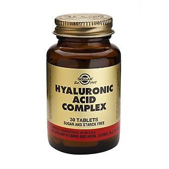 Solgar Hyaluronic Acid Complex 120 mg 30 Tablets
