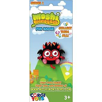 Officially Licensed   MOSHI MONSTERS   Series 1 Pin Badges   Single RANDOM Badge