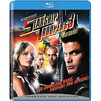 Starship Troopers 3: Marauder [BLU-RAY] USA import