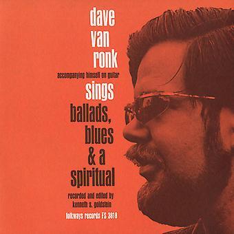 Dave Van Ronk - Ballads Blues & a Spiritual [CD] USA import
