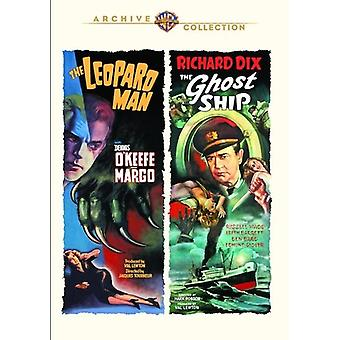 Leopard Man / Ghost Ship (1943) [DVD] USA import