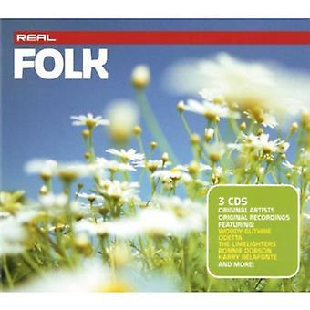 Egentlige folkemusik - Real folkemusik [CD] USA importerer