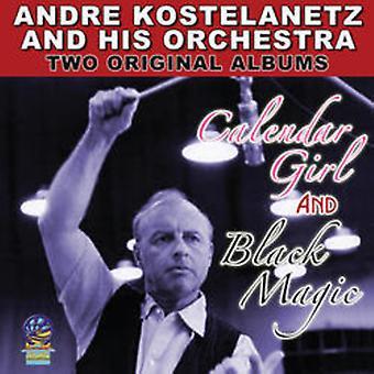 André Kostelanetz & hans orkester - to originale Albums kalender pige & sort magi [CD] USA importerer