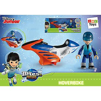 IMC Toys Miles Moto Hoverbike Con Figura 25 Cm (Jouets , Figures D'Actions , Véhicules)