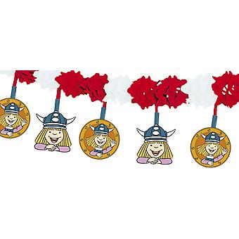 Wickie comic Viking motif Garland children's Party birthday