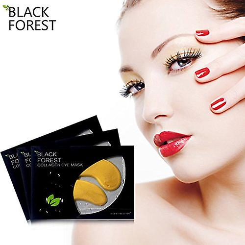 10 x Collagen Mask, Black Forest Spa Golden Facial Mask Hyaluronic Mask Whitening Wrinkle Lifting Moisturizing treatment
