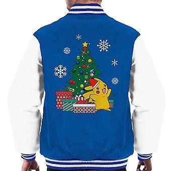 Pikachu Pokemon juletre menn Varsity jakke