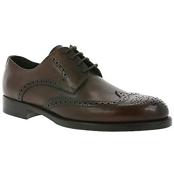 John Baker BB´s Brogue made in Italy shoes men's genuine leather shoes Braun TC138