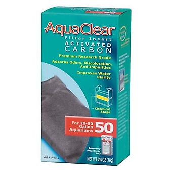 Aquaclear Filter Inserts Act. Carbon 50
