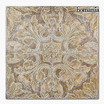 Bigbuy Cuadro hojas by Homania (Home , Decoration , Decoration for walls and roofs)