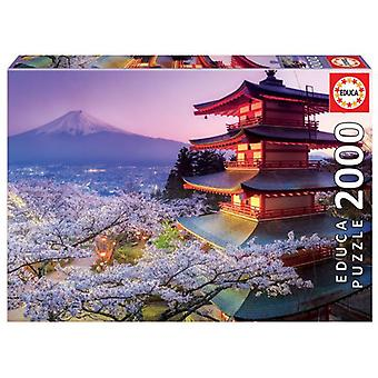 Educa Puzzle Mount Fuji 2000 Pieces (Toys , Boardgames , Puzzles)