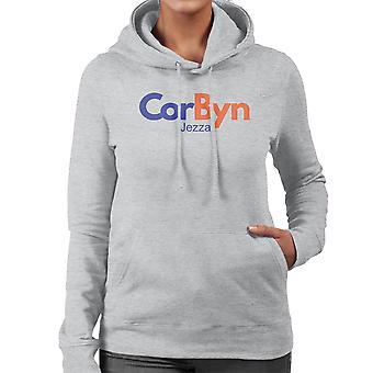 Jeremy Corbyn FedEx Logo Women's Hooded Sweatshirt