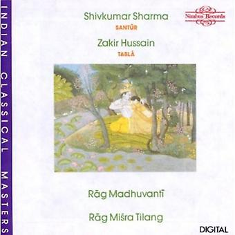Sharma/Hussain - Rag Madhuvanti/Misra [CD] USA import