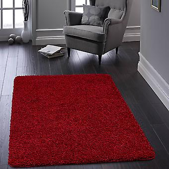 Buddy Washable Rugs In Red