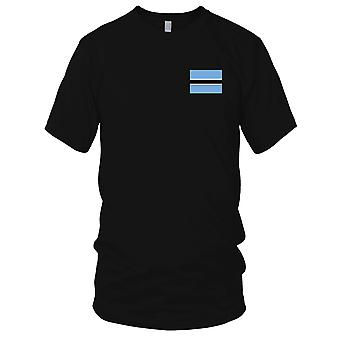Botswana Country National Flag - Embroidered Logo - 100% Cotton T-Shirt Kids T Shirt