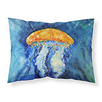 Calm Water Jellyfish Fabric Standard Pillowcase