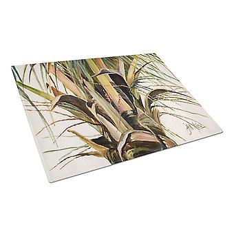 Carolines aarteita JMK1131LCB Top Coconut puu lasinen leikkuulauta suuri