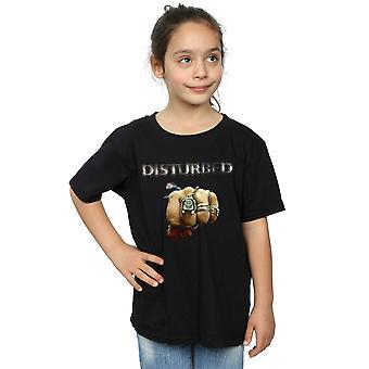 Disturbed Girls Fist Logo T-Shirt