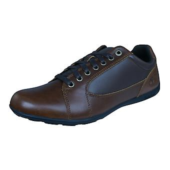 Timberland Low Profile Plain teen Oxford Mens lederen schoenen - bruin