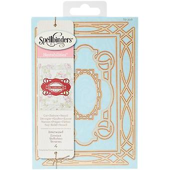 Spellbinders Shapeabilities Dies By Stacey Caron-Intertwined S5306