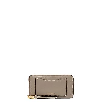 Marc Jacobs women's M0008168213 grey leather wallets