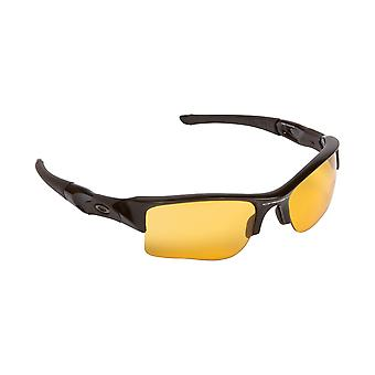 Flak Jacket XLJ Replacement Lenses Hi Yellow & Silver by SEEK fits OAKLEY