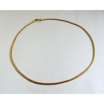 18 k collar de oro amarillo