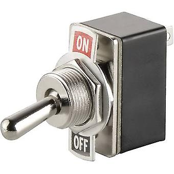 Toggle switch 250 Vac 1.5 A 1 x Off/On SCI R13-2-0