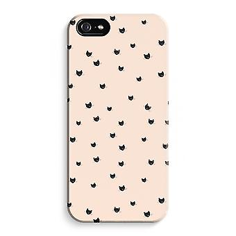 iPhone 5 / 5S / SE Full Print Case (Glossy) - Little cats