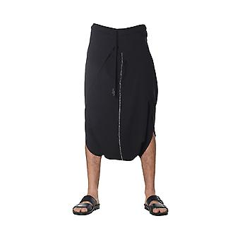Nostrasantissima men's PP2901000 black cotton of shorts