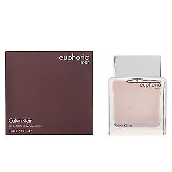 Calvin Klein Euphoria Men Eau De Toilette Vapo 100ml Perfume Spray Sealed Boxed