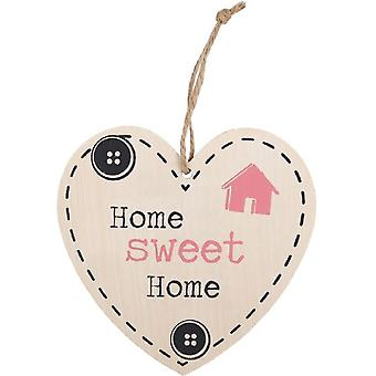 Something Different Home Sweet Home Hanging Heart Sign