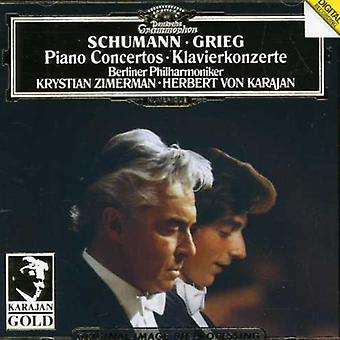 Schumann/Grieg - Schumann; Grieg: Piano Concertos [CD] USA import