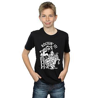 Scooby Doo pojkar Rockin ' det T-Shirt