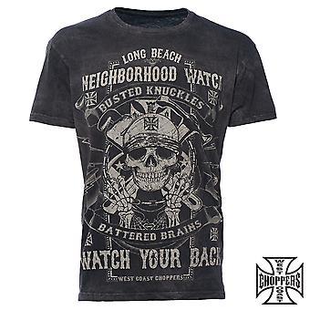 West Coast choppers T-Shirt neighborhood watch