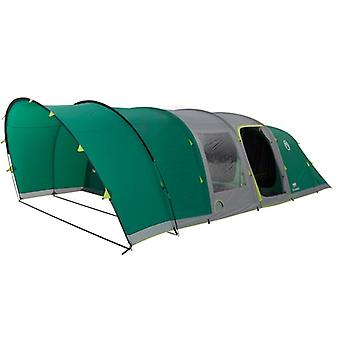 Coleman 6 Man Fastpitch Air Valdes Tent XL - Green + Free Electric Cooler