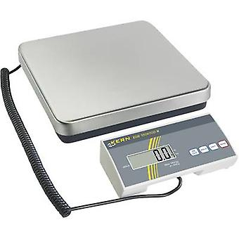 Kern Parcel scales Weight range 15 kg Readability 5 g mains-powered, battery-powered Silver