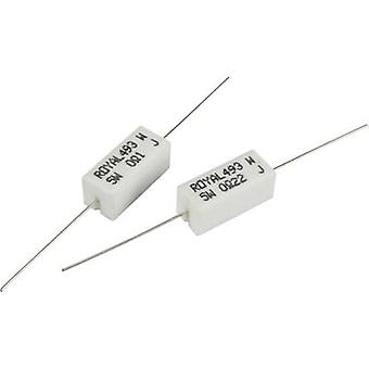 Royalohm PRW05WJW10KB00 High power resistor 0.1 Ω Axial lead 5 W 5 % 1 pc(s)