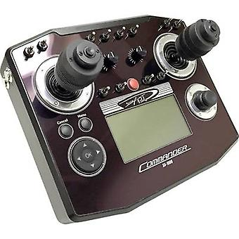 ScaleArt COMMANDER SA-1000 RC console 2,4 GHz No. of channels: 16 Joystick extender