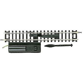 N Fleischmann (w/o track bed) 22212 Uncoupling track, Electromagnetic 104.2 mm