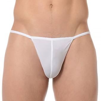 Hom Plume G-String, White, Small