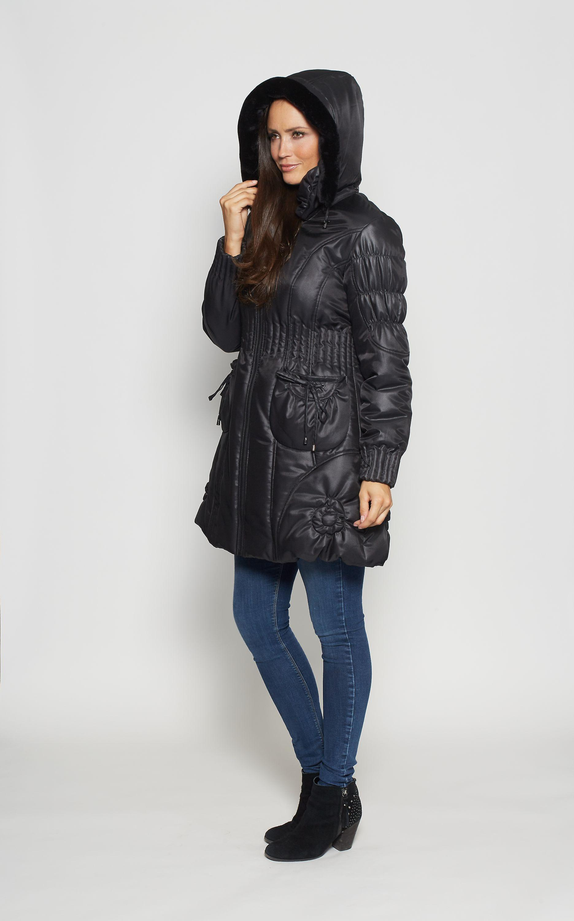 Ladies quilted coat David Barry Style DB428