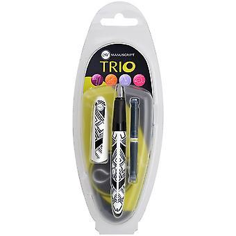 Manuscript Trio Italic Pen-Geo