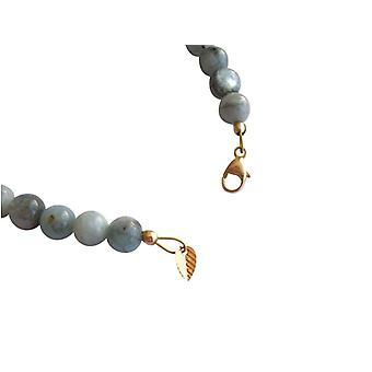Aquamarine bracelet gemstone bracelet aquamarine bracelet gold plated