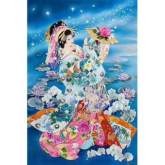 Tsuki Hoshi Poster Print by Haruyo Morita
