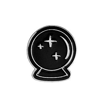 Attitude Clothing Crystal Ball Enamel Pin