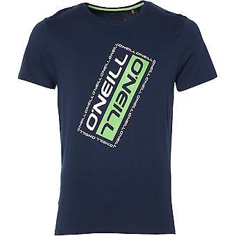 O ' Neill Mens oblique chemise Slim Fit coton bio graphique T