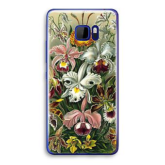 HTC U Ultra Transparent Case (Soft) - Haeckel Orchidae