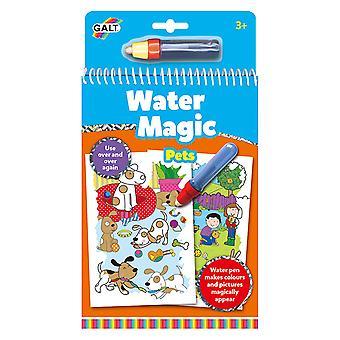 Galt vand magiske kæledyr, farvning bog for børn